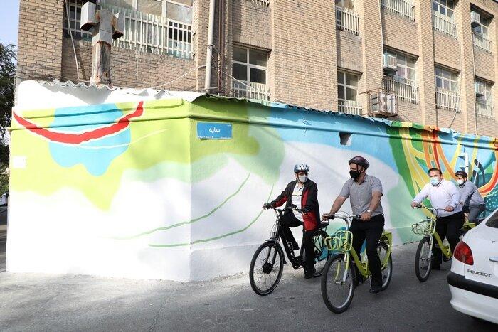 رصد پروژه های توسعه محله ای منطقه ۸ در پویش سه شنبه های بدون خودرو