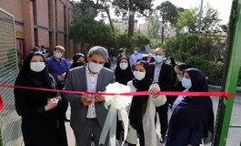 افتتاح نخستین زمین چمن مصنوعی ویژه بانوان در منطقه ۷