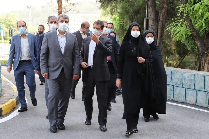 بازدید معاون هماهنگی و امور مناطق شهرداری تهران از منطقه ۷