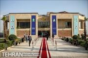 آیین افتتاح کوشک باغ هنر
