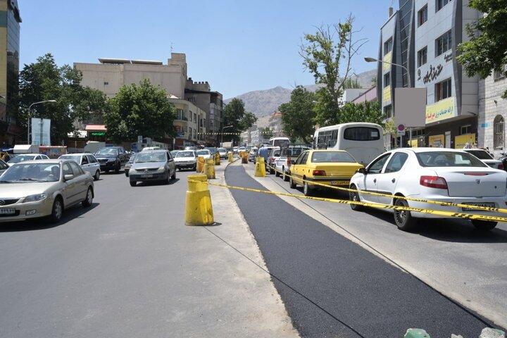 حذف پارک حاشیه ای خیابان شهرداری با نصب دوربین های ثبت تخلف