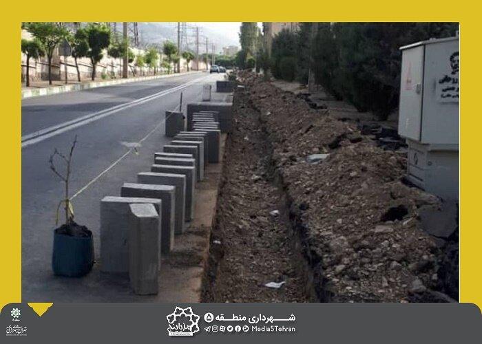 خیابان شهران عریض می شود