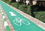 آغاز ساخت مسیر دوچرخه در بلوار مرزداران
