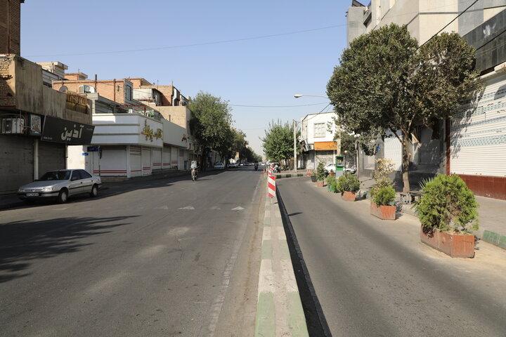 اجرای طرح خیابان کامل در ۲ معبر اصلی منطقه ۱۹