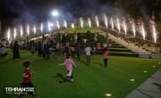 آیین افتتاح و بهره برداری از فاز نخست پروژه باغ راه حضرت فاطمه زهرا(س)