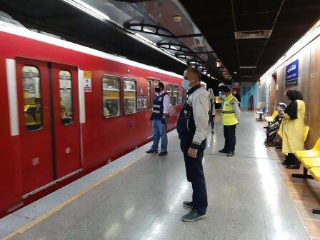 تردد قطارهای متروی تهران و حومه در روز تنفیذ و تحلیف ریاست جمهوری تغییری نمی کند