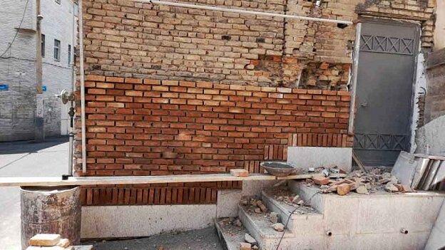 مرمت نمای قدیمی ترین مسجد شهر تهران آغاز شد