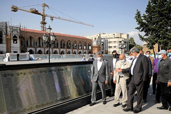 بازدید منتخب ششمین دوره شورای شهر از میدان امام خمینی (ره)