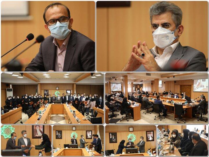 آیین قدردانی از کاروان پزشکی اعزامی به سیستان و بلوچستان