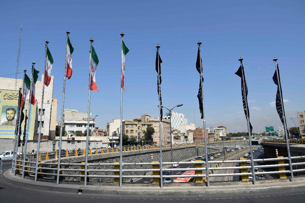 دارالمومنین تهران سیاه پوش شد