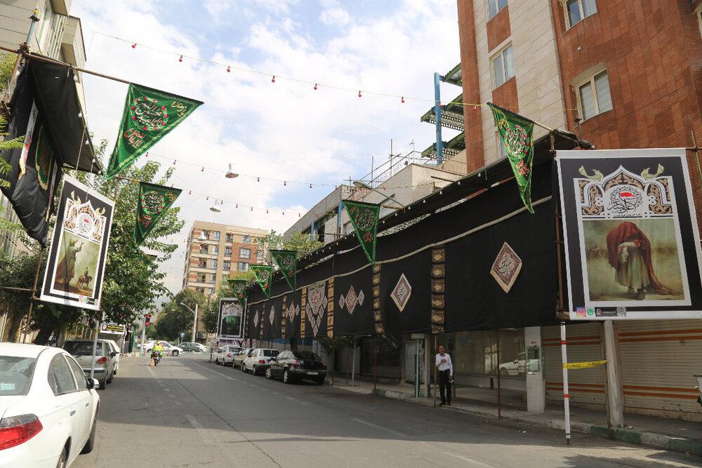 برنامه های عزاداری محرم در محله های مرکزی شهر تهران اعلام شد