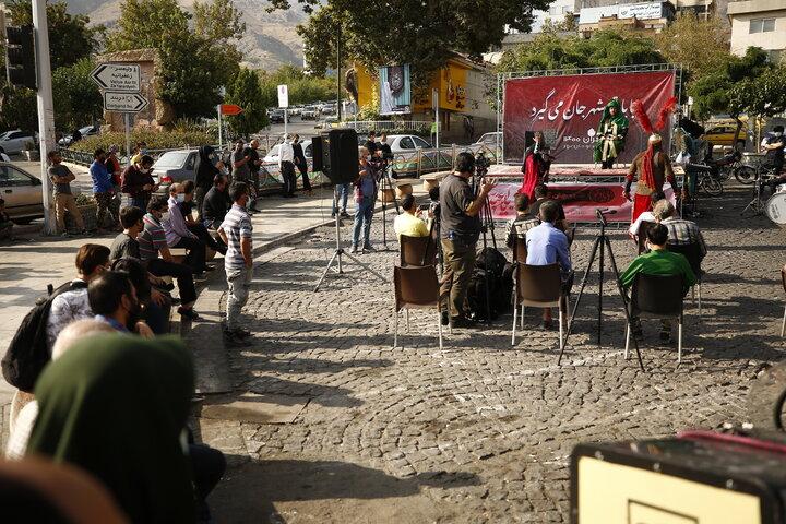 آماده سازی فضاهای باز شهری برای عزاداران حسینی در محلات شمال تهران