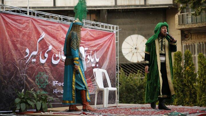 برنامه های فرهنگی، مذهبی سوگواری حسینی در محلات شمال تهران در حال اجراست