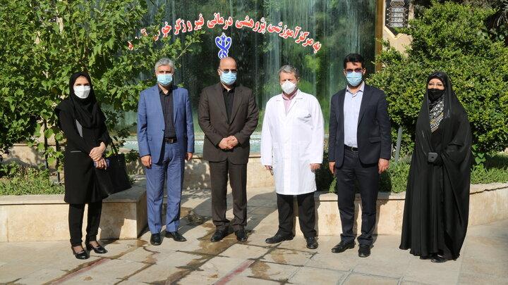 تجلیل شهردار منطقه ۶ از پزشکان