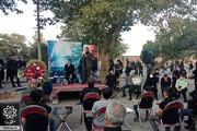 مراسم گرامیداشت یادوخاطره شهید مدافع حرم مجید قربانخانی برگزار شد