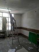 رنگ آمیزی و مرمت مدارس منطقه ۹