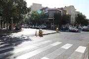آغاز عملیات اصلاح هندسی تقاطع خیابان های میثاق و شهید حقی