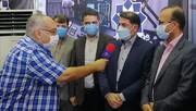 بازدید نماینده سازمان بازرسی از مرکز شماره یک واکسیناسیون شهر سالم