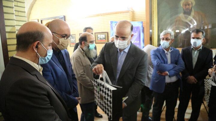 تمبر اختصاصی مدافعان و شهدای سلامت منطقه ۶ به کادر پزشکی اهدا شد