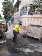 اجرای طرح نگهداشت شهر با جدیت پیش از آغاز بارندگی ها در منطقه ۱۵