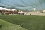 تجهیز زمین فوتبال گلگشت منطقه ۱۵