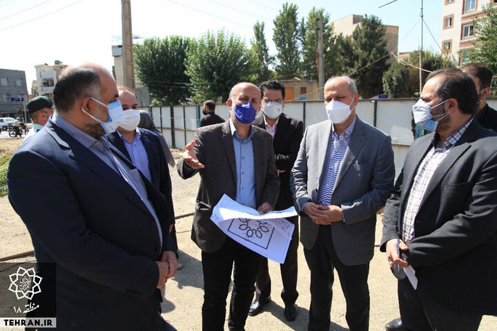 بازدید معاون حمل و نقل وترافیک شهرداری تهران از منطقه ۱۸