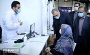 بازدید شهردار تهران از مراکز واکسیناسیون