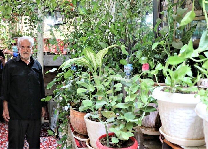رونمایی از پلاک خانه سبز عمو شمس الله
