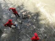 لایروبی، پاکسازی و رسوب برداری کانال های منطقه ۷