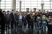 استقبال از قهرمانان پارالمپیک در فرودگاه امام خمینی (ره)
