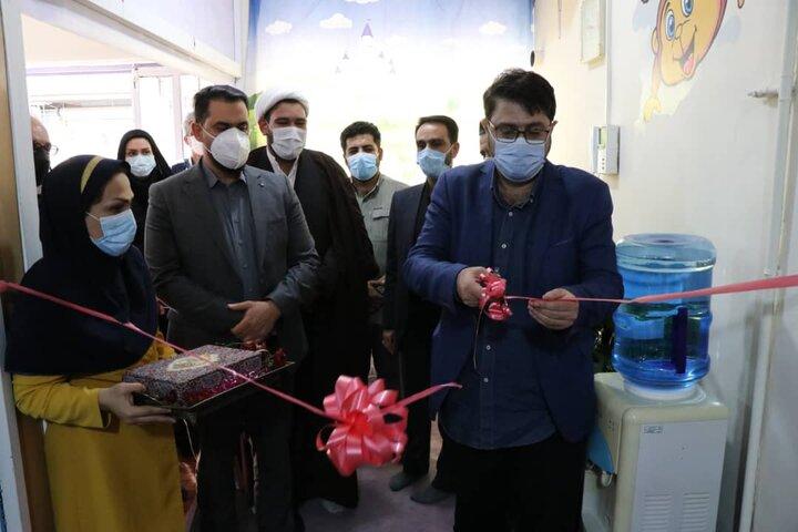 افتتاح خانه کودک محله شمشیری در منطقه ۹