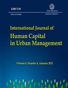 انتشار بیست و چهارمین فصلنامه بین المللی سرمایه انسانی در مدیریت شهری