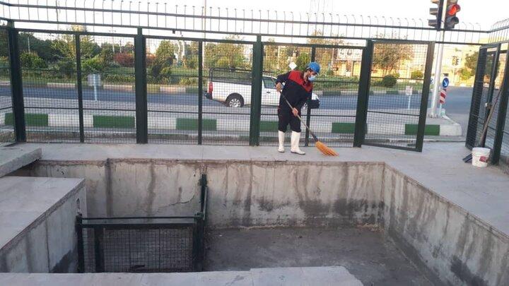 احداث حوضچه های جدید رسوبگیر در منطقه ۱۴