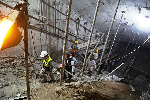 بررسی آخرین وضعیت پیشرفت ایستگاههای خط ۷ مترو