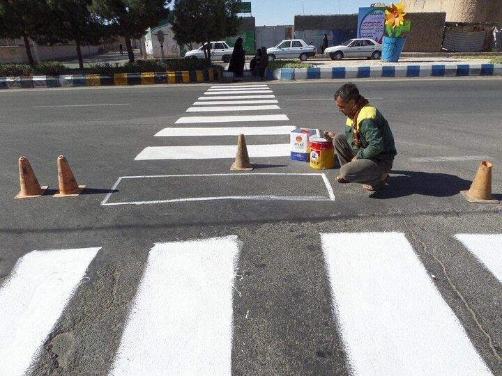 اقدامات ترافیکی منطقه ۴ در آستانه سال تحصیلی جدید