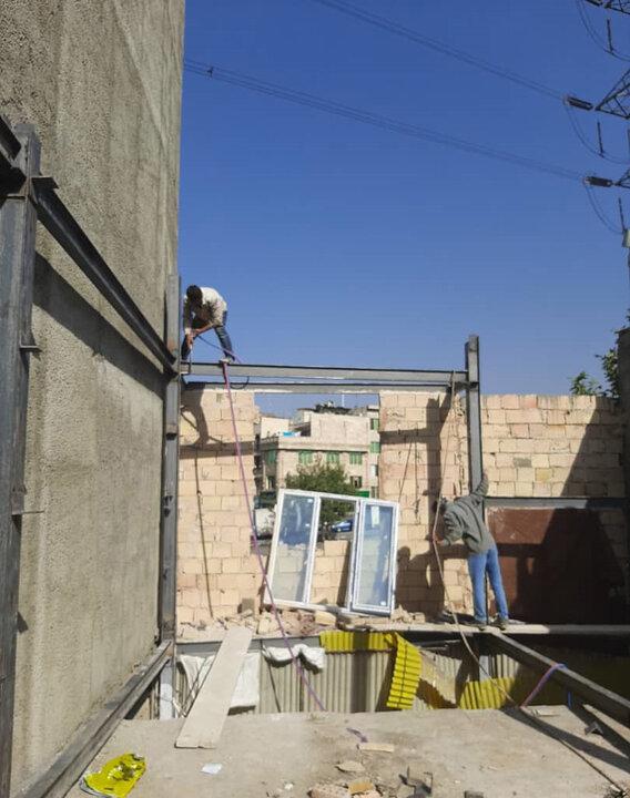 تداوم تخریب ساخت و سازهای غیر مجاز در منطقه ۴ پایتخت