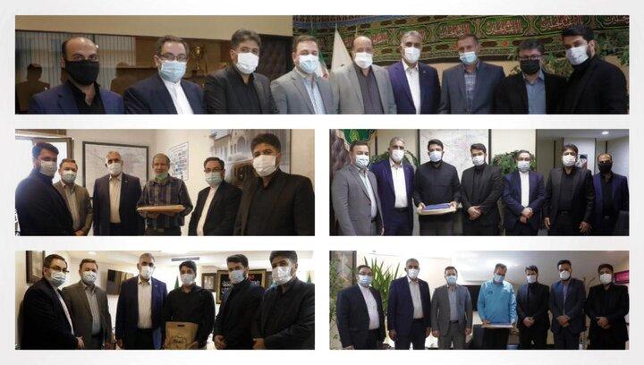 دیدار مدیرعامل شرکت بهره برداری متروی تهران و حومه با کارکنان شاغل ایثارگر و خانواده معظم شهدا
