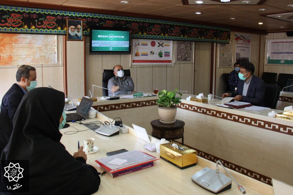 پنجمین جلسه دیدار مردمی شهردار منطقه ۱۸ برگزار شد