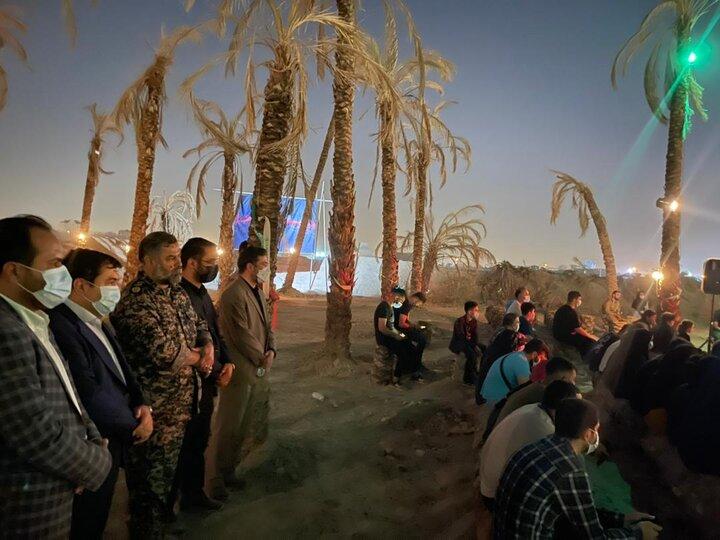 بازدید شهردار منطقه ١٩ از نمایشگاه یاد یاران
