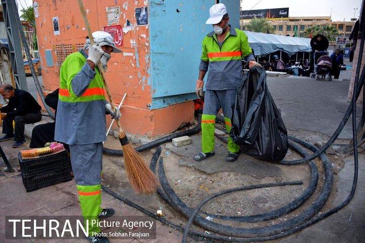 بررسی اقدامات شهرداری تهران در نجف اشرف