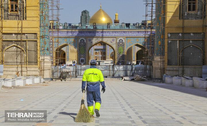 حضور نیروهای خادم الحسین(ع) در نجف اشرف
