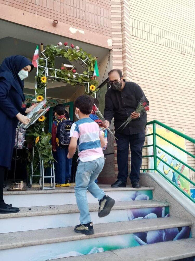 مدارس ابتدائی برای استقبال از دانش آموزان آماده شدند