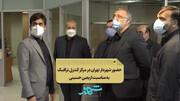 حضور شهردار تهران در مرکز کنترل ترافیک همزمان با پیاده روی جاماندگان اربعین