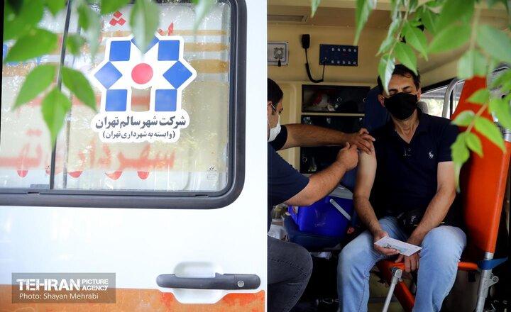 واکسیناسیون اورژانس شهر سالم در پیاده روی جاماندگان اربعین حسینی