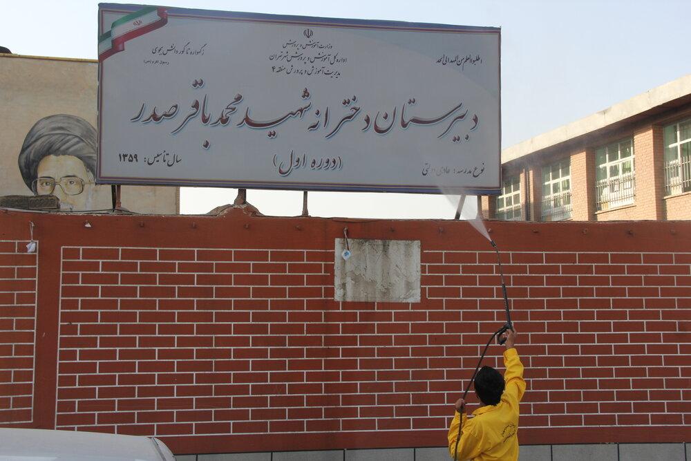 مناسب سازی معابر و مدارس شمال شرق تهران در مهر ۱۴۰۰