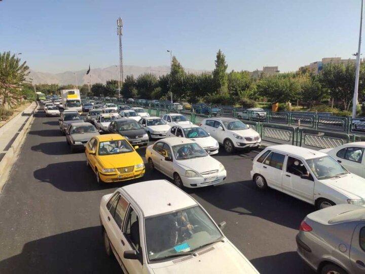 زمان سفر و ترافیک در غرب تهران کاهش پیدا می کند