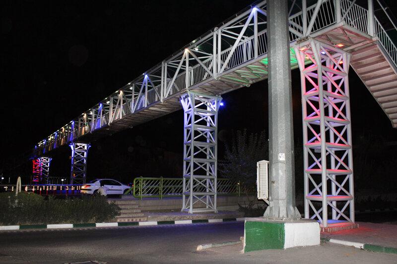 پل های عابر در شمال شرق پایتخت مناسب سازی شد