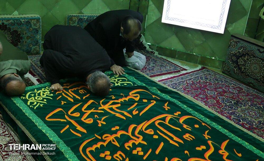 بازدید شهردار تهران از امامزاده داوود (ع)