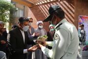 برپایی آیین گرامیداشت هفته نیروی انتظامی در منطقه ۱۵