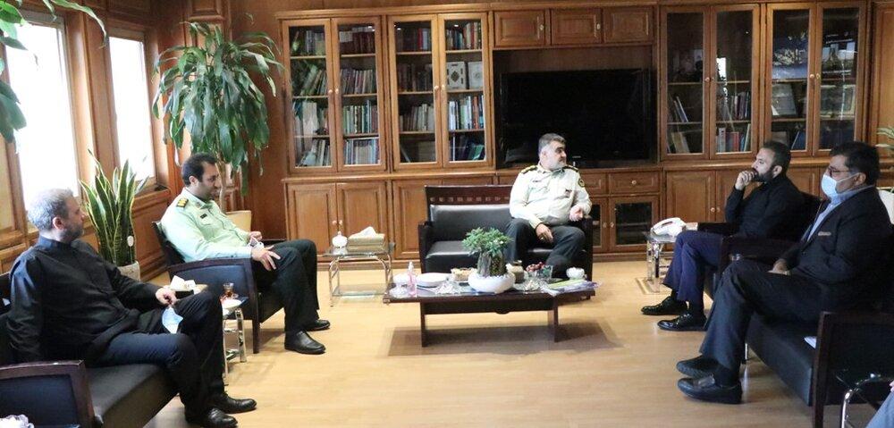 هم افزایی پلیس و شهرداری برای تامین امنیت غرب پایتخت